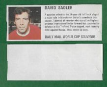 England David Sadler Manchester United DM70